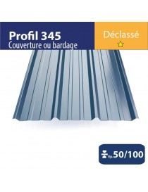 Tôle couverture 345 Anthracite