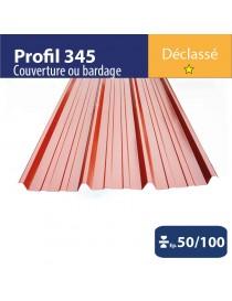 Tôle couverture 345 Brun rouge