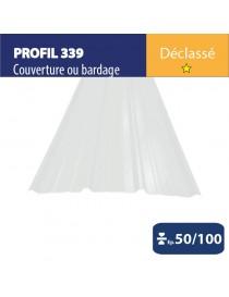 Tôle couverture 339 - Gris primaire